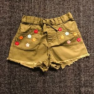 Gymboree embroidered shorts size …